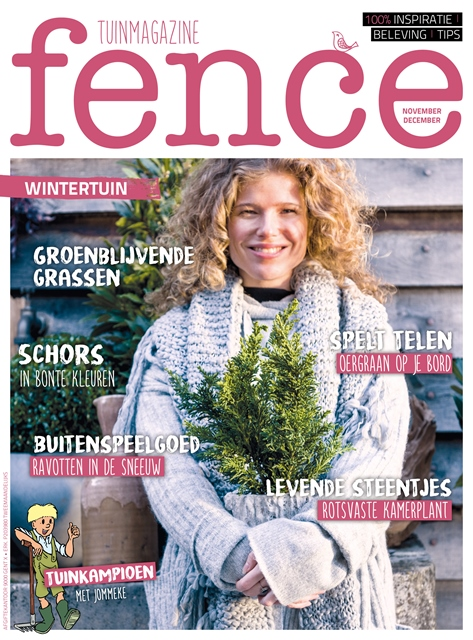Fence tuinmagazine_wintertuin_tuininspiratie_editie november december 2017 l